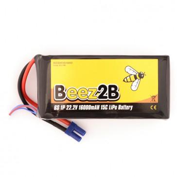 DISC.. Batterie Lipo 6S 22,2v 16.000mAh 15C (97 x 60 x 175mm - 2170g)