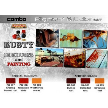 Combo Pigment & Color Rusty