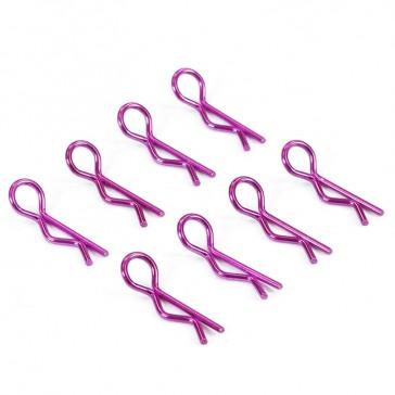 METALIC PURPLE SMALL CLIPS