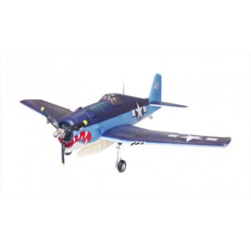 DISC.. Plane 1400mm serie : F6F Hellcat (Blue) PNP kit