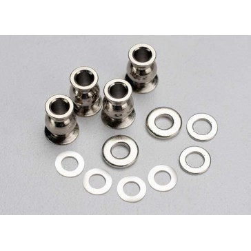 Shim set, 3x7x1mm (2), 3x6x0.5mm (4), 3x7x2mm (2)/ hollow ba