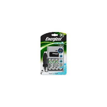 1 Lader 1 HOUR Energizer + 4 x AA 2300 mAh + car adaptor