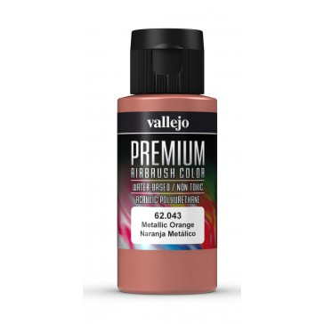 Premium RC acrylic color (60ml) - Metallic Orange