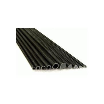 DISC.. Tube rond en carbone - 3.5×1.8×1000