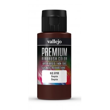 Premium RC acrylic color (60ml) - Sepia