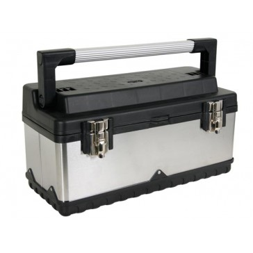 Boîte à outils - Acier inoxydable - 505 x 245 x 225 mm