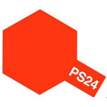 Polycarbonate Spray - PS24 orange fluorescent