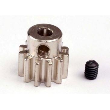 Gear, 12-T pinion (32-p) (mach. steel)/ set screw