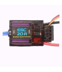 DISC.. Contrôleur brushless - 20amp (18g, 45x24x6)