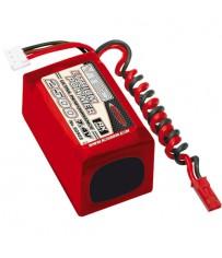 DISC.. VTEC LiPo RX-Pack 2/3A 2500 7.4V - Hump