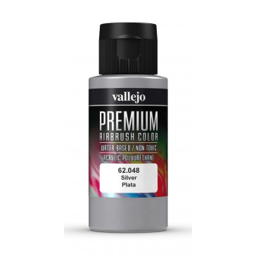 Premium RC acrylic color (60ml) - Silver