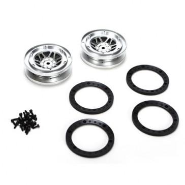 Beadlock Wheel w/Rings (2)