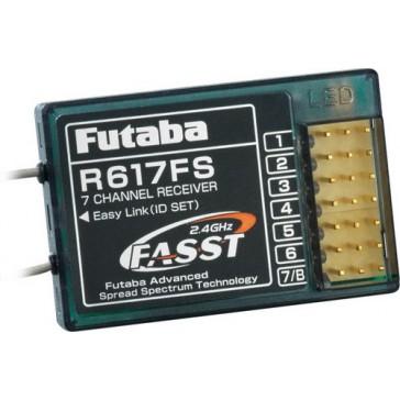 DISC.. Récepteur R617FS 2.4GHz  7 voies