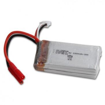 DISC.. QR Hoten X : Li-po battery 7.4V 1000mAh