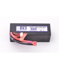 DISC.. Lipo Hard case 5000mAh 40C/80C 14,8V (4S)  47x47x137