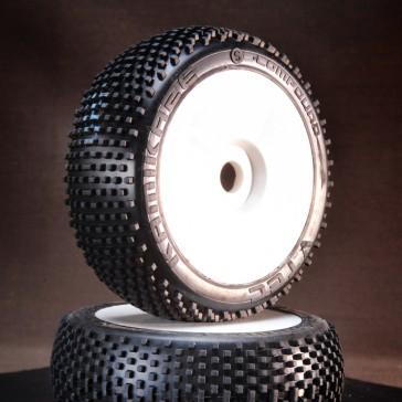 DISC.. VTEC Kamikaze Super soft 1/8 Buggy competition tire (pre-glued
