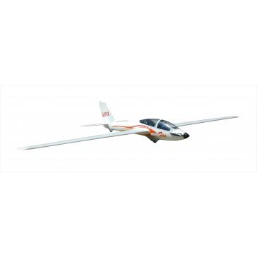 Planeur 2300mm Fox V2 (avec flaps) kit PNP