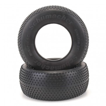 Short Course Tyre - Mini Pin - Silver (pr)