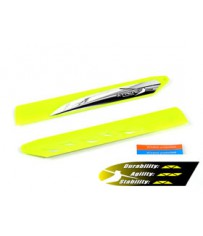 Blade 130X-BLH3715OR-vol rapide rotor principal Blade set orange
