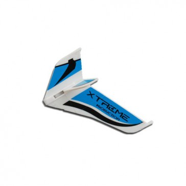 DISC.. Tail Fins-type A Blue (Eflite MCX)