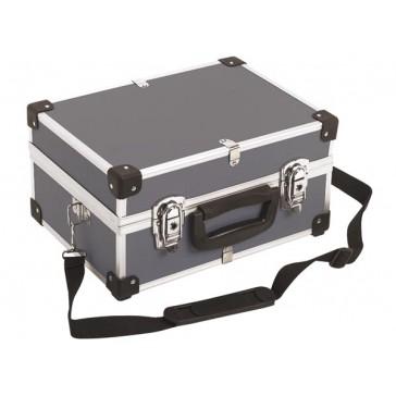 ALUMINIUM TOOL CASE 330 x 230 x 150mm - GREY