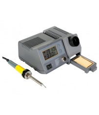 SOLDERING STATION WITH LCD & CERAMIC HEATER 48W 150 - 450°C