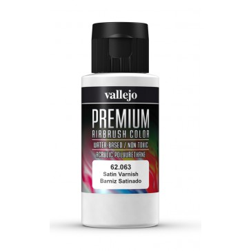 Premium RC acrylic color (60ml) - Satin Varnish