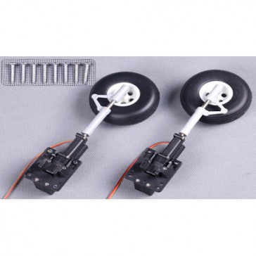 DISC.. Electric 90° Retract (2pc) w/ front landing gear for Giant P40