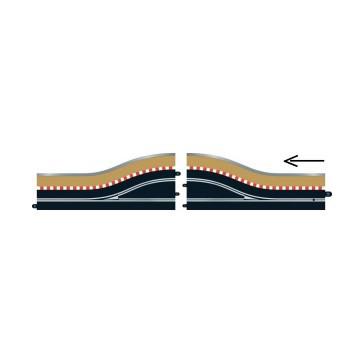 PIT LANE TRACK (RIGHT HAND) - INCLUDES SENSOR