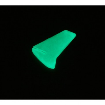 DISC.. Vertical Fin: Glow in the Dark without Decals:BMCX