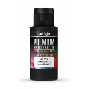 Premium RC acrylic color (60ml) - Metallic Black