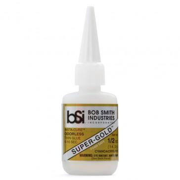 Super-Gold Cyano Thin Foam Safe Odorless 14g (1/2 oz)