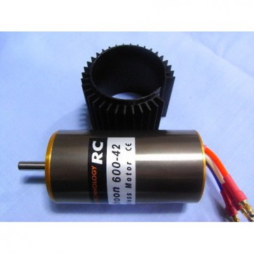 DISC.. Brushless Motor Typhoon 600-42 With heat sink