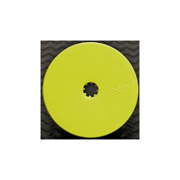 DISC.. PRO-LINE VELOCITY B4 FRONT YELLOW WHEEL