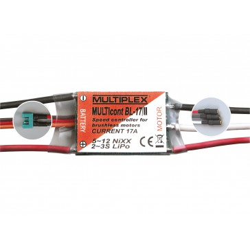 speed controller MULTIcont BL-17/II