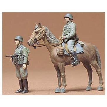 Infanterie montée Allemande