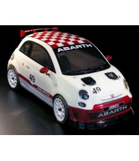 DISC.. 500 ABARTH ASSETTO CORSE 1/9 RC car RTR Kit