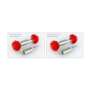 540-Size 12,3 x 7,2 High-Speed sintered rotor for Ares Pro