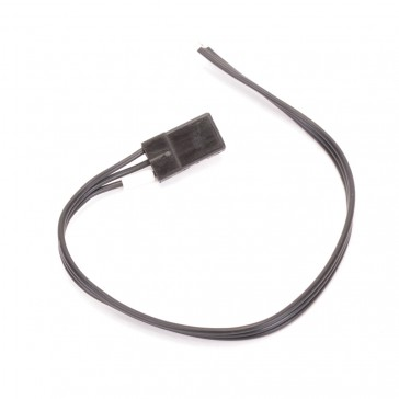 JR Servo Wires Black