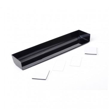 Touring Car Wing + 2 End Plates - Black