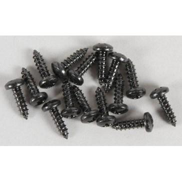 Pan-head tap.screws, 2.9x9.5mm, 15pcs.