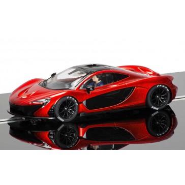 McLaren P1 rouge