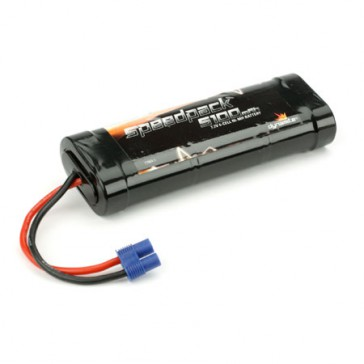 Speedpack 5100mAh NiMH 6-Cell Flat with EC3 Conn