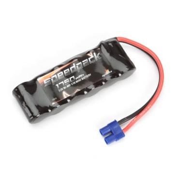 7.2V 1750mAh NiMH 6C Flat Battery, EC3: Minis