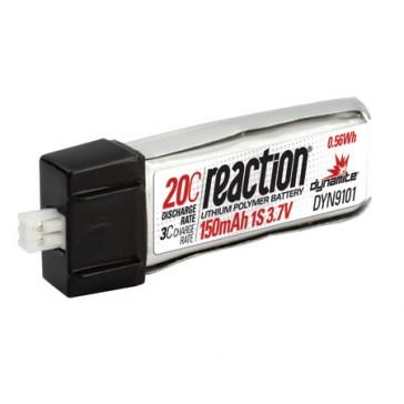 DISC.. 3.7V 150mAh 1S 20C LiPo: Micro