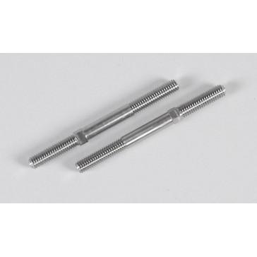 Titan. wishbone/track rod le./ri. M6x73, 2pcs.