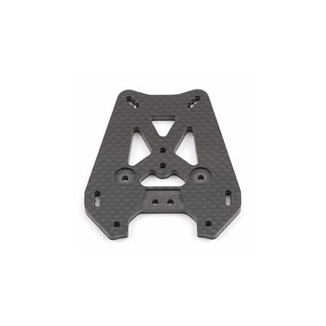 RC8 CARBON REAR SHOCK TOWER