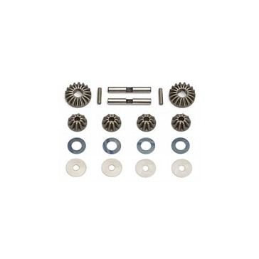 RC8 DIFF GEARS, WASHERS & PINS