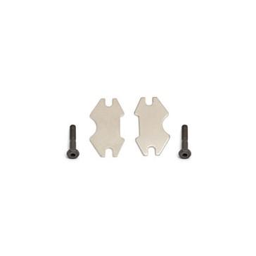 RC8 BRAKE PADS (INC BOLTS)