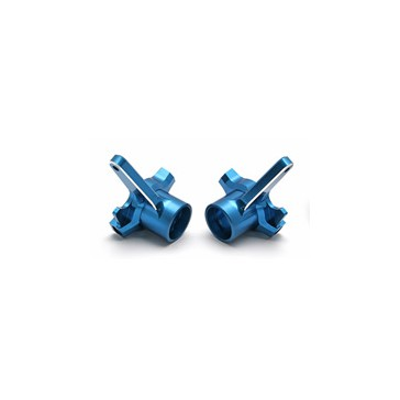 RC8/T/SC8 CNC ALLOY STEERING BLOCKS - BLUE